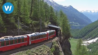 Video World's Most Beautiful Railway - The Bernina Express MP3, 3GP, MP4, WEBM, AVI, FLV Desember 2018