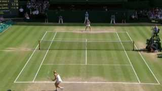 Tennis Highlights, Video - Marion Bartoli wins Wimbledon 2013: Highlights v Sabine Lisicki