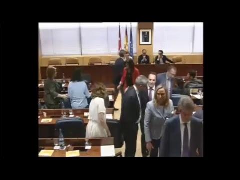 Cifuentes comparece en comisión de investigación sobre corrupción