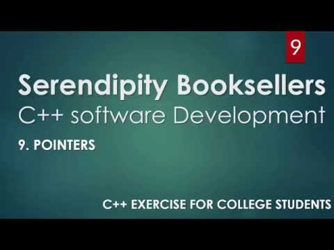 C++ Serendipity Booksellers Software Development Project – Part 9-1: C++ Pointers (PART 1): C++ Arrays)