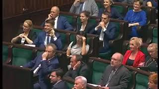 Brawurowe wystąpienie Stefana Niesiołowskiego!