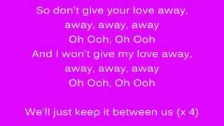 Kelly Rowland - Keep It Between Us (lyrics)