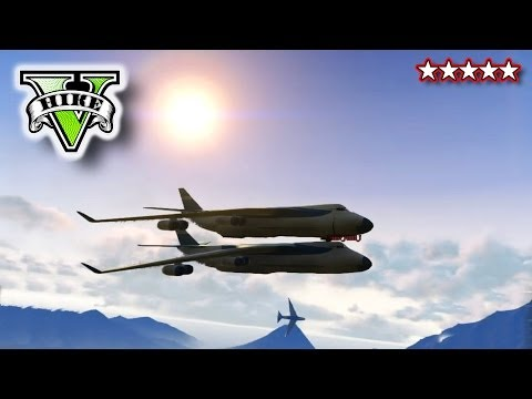 plane - GTA 5 CARGO PLANE STUNTS!!! - GTA, Blimps & Cargo Plane!!! - Crazy Flying Grand Theft Auto 5 ▻HikePlays - http://www.youtube.com/subscription_center?add_user...