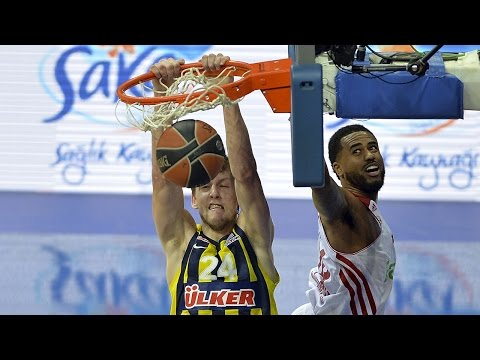 Munich - In an entertaining showdown, Fenerbahce Ulker Istanbul finished the 2014-15 Turkish Airlines Euroleague regular season in style by downing FC Bayern Munich 87-81 at home on Friday. Fenerbahce.
