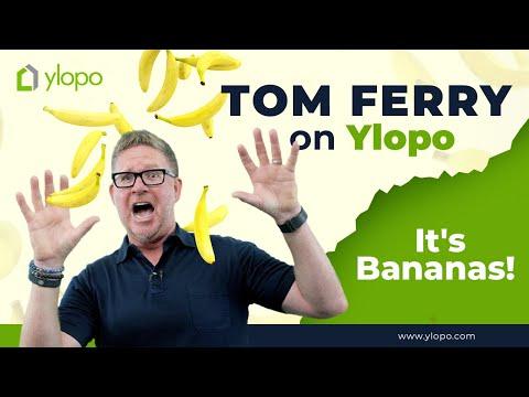 Tom Ferry Talks To Ylopo - It's Bonkers & Bananas!