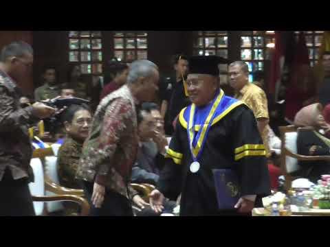 Pimpinan KBN Wisuda Pascasarjana di STIP-AN Jakarta