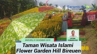 Taman Wisata Islami Flower Garden Hill Bireuen, Ragam Warna Dari Puncak Bukit