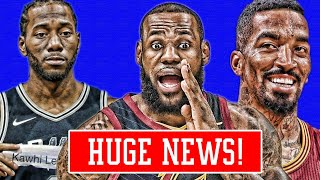 LAKERS VS SIXERS FOR LEBRON! SIXERS FAVORITES FOR KAWHI! CAVS SAY THEY WILL SHOCK US! | NBA NEWS
