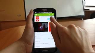 Red Texture GO Locker Theme YouTube video