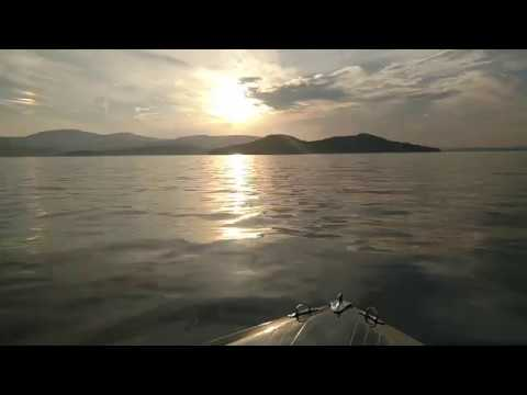 Lake Winnipesaukee The Broads on a Calm Summer Eve
