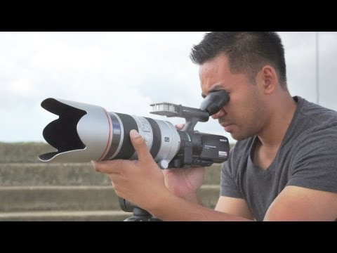 Sony NEX-VG30 Review | John Sison