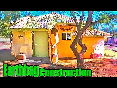 Earthbag/SuperAdobe House Construction