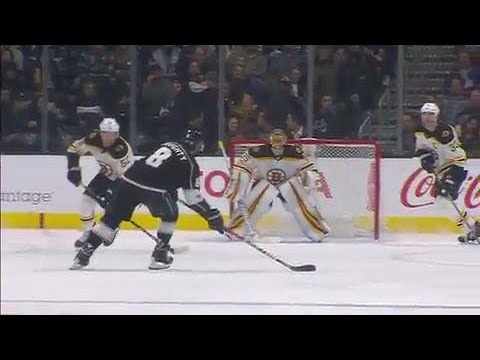 Video: Kings' Doughty rips perfect shot top corner
