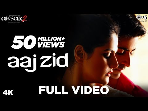 Video Aaj Zid Full Video - Aksar 2   Arijit Singh, Mithoon   Zareen Khan, Gautam Rode download in MP3, 3GP, MP4, WEBM, AVI, FLV January 2017