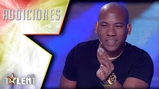Video Outstanding magic from the Caribbean gets the Golden Buzzer | Auditions 2 | Spain's Got Talent 2017 MP3, 3GP, MP4, WEBM, AVI, FLV September 2019