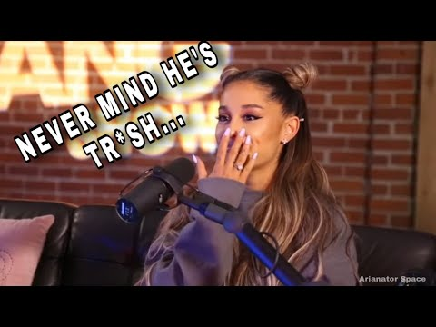 Ariana Grande talking about Ricky in thank u next *iconic*