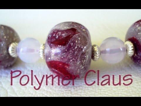 fimo - come realizzare delle perle effetto vetro