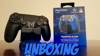 PowerA Charging Stand for Sony PS4 Dual Shock 4 Controller Unboxing