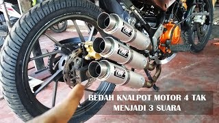 Video CARA MODIFIKASI KNALPOT MOTOR 4 TAK - GALAK !!! MP3, 3GP, MP4, WEBM, AVI, FLV Mei 2018