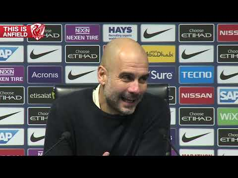 Pep Guardiola On Man City 2-1 Liverpool