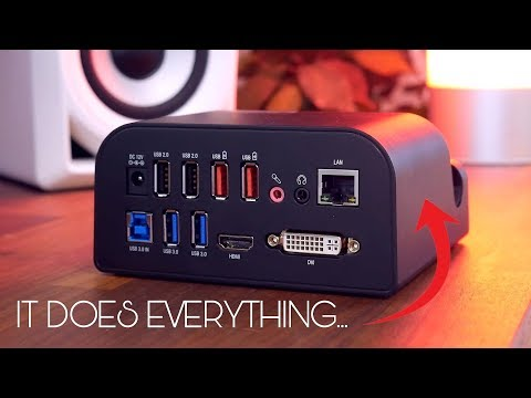 It Does Everything... Sabrent USB 3.0 Universal Docking Station