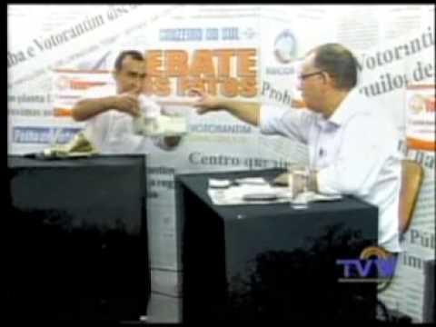 Debate dos Fatos 22-03-13 TV Votorantim Le Baeza