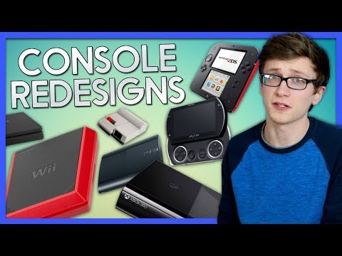 Console Redesigns - Scott The Woz