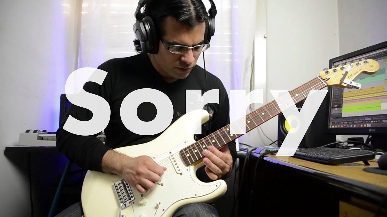 Justin Bieber – Sorry (PURPOSE) electric guitar cover