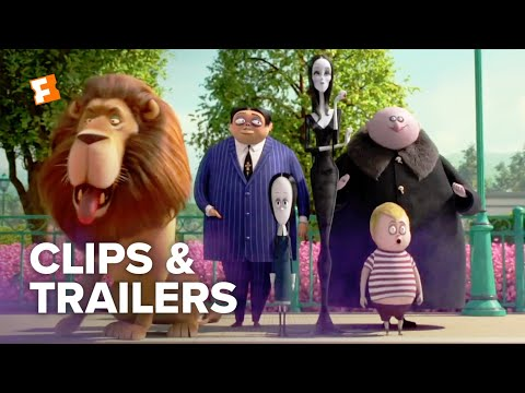 The Addams Family ALL Clips + Trailers (2019) | Fandango Family