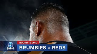 Brumbies v Reds Rd.18 2019 Super rugby video highlights | Super Rugby Video Highlights