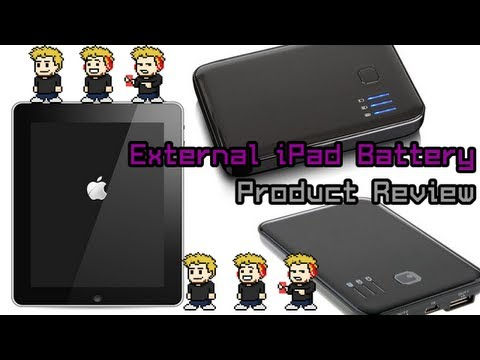 Portable External Battery Pack For iPad, iPod Touch and iPhone
