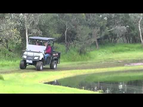 Landmaster - www.landmaster.com.au American SportsWorks LandMaster LSV 48v, is a solid powerfull EUV ( Electric Utility Vehicle ) work horse built in America, designed to...