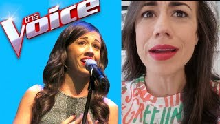 Video I AUDITIONED FOR THE VOICE! MP3, 3GP, MP4, WEBM, AVI, FLV Januari 2018