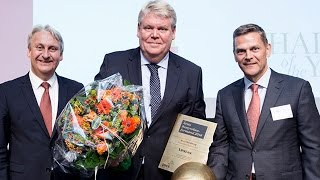 Bert Nordberg fortæller om rollen som bestyrelsesformand i Vestas og Ole Andersen fortæller om motivationen for kåringen.