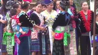 Hmong new year festival 2014 Chiang rai thailand