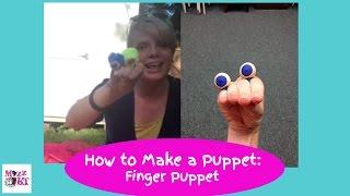 Just Make a Puppet...