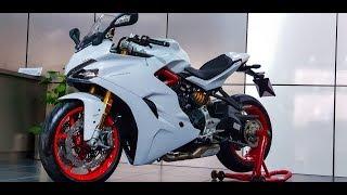 2. Ducati Supersport & Supersport S Walkaround Feature #DinosVlogs