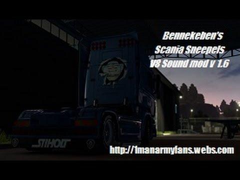 Bennekeben's Scania Sneepels V8 Soundmod