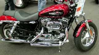10. 2012 Harley-Davidson Sportster 1200 Custom at 2012 Montreal Motorcycle Show