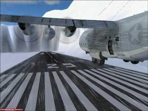 PMAO airbase-Alaska (видео)