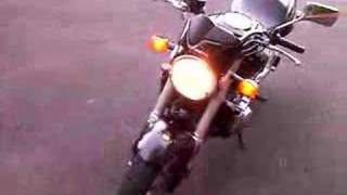 10. 2006 Honda Hornet 599 with LeoVince exhaust