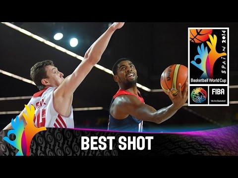 Shot - Watch Kyrie Irving's great layup against Turkey. The 2014 FIBA Basketball World Cup will take place in Spain from 30 August - 14 September and will feature the best international players from...
