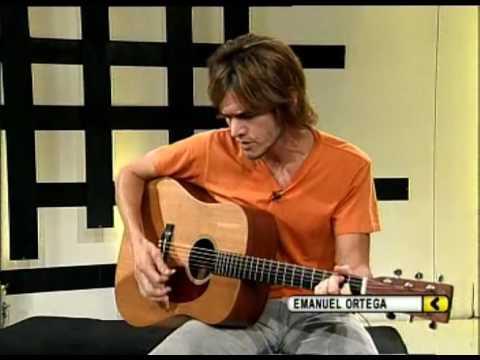 Emanuel Ortega video Todo bien - Estudio CM 2009