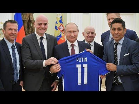 Πούτιν: «Το Μουντιάλ αλλάζει την εικόνα της Ρωσίας στον υπόλοιπο κόσμο»…