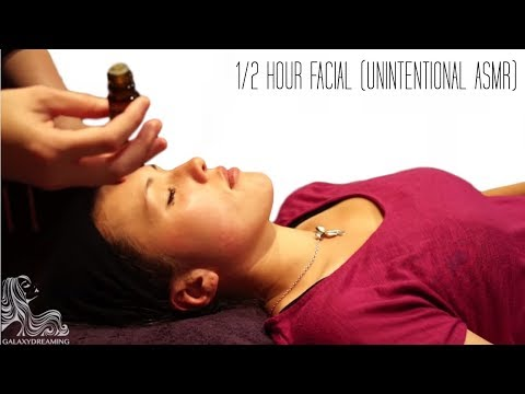 30 minute Facial tutorial - Salon Secrets ASMR