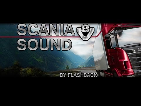 Scania V8 sound v2.0