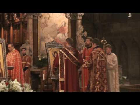 Byzantinische Göttliche Liturgie im Wiener Stephansdom