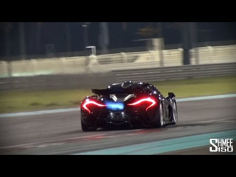 mclaren p1 - the king of flamethrowers