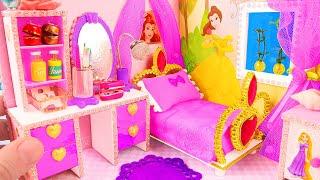 DIY Miniature Disney Princess Dollhouse