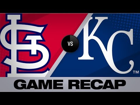 Video: Hudson, bullpen shut out Royals in 6-0 win   Cardinals-Royals Game Highlights 8/14/19